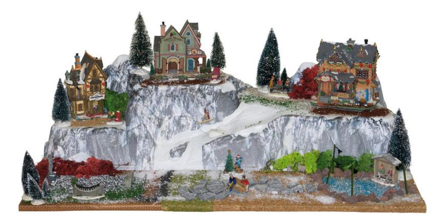 Weihnachtsdorf Winterdorf Modellbau Arlberg MY VILLAGE 40