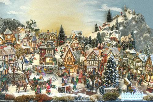 Die kleine Weihnachtswelt ::: Ihr Online Shop für\'s Weihnachtsdorf
